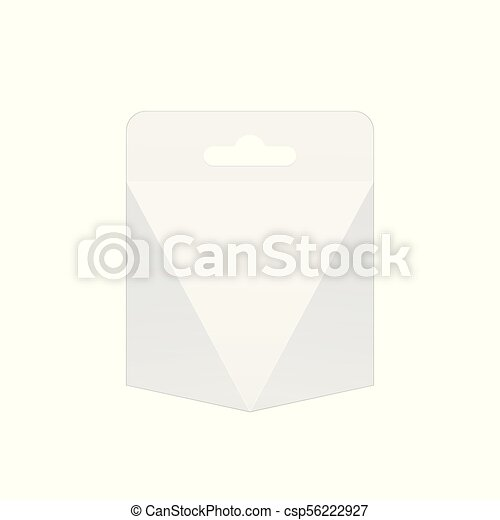 light realistic package cardboard box template for mockup your