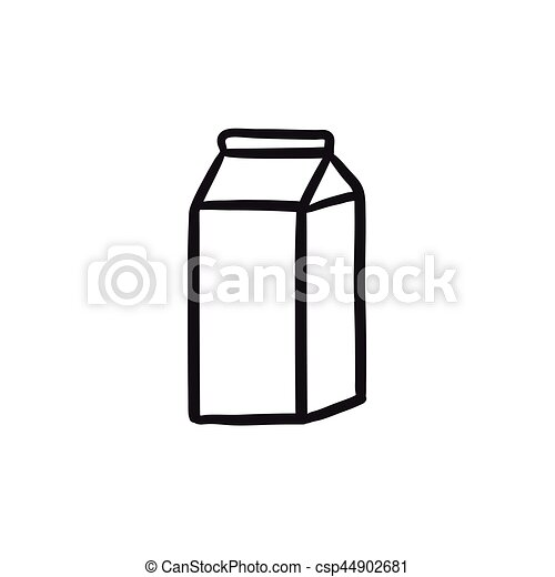 packaged dairy product sketch icon packaged dairy product vector rh canstockphoto com dairy queen clipart dairy clipart black and white