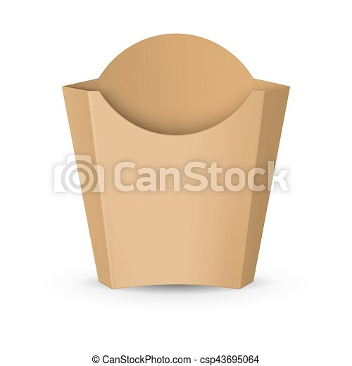Packaging for French Fries - csp43695064