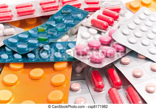 packs of pills - csp8171982