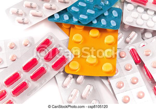 packs of pills - csp8105120
