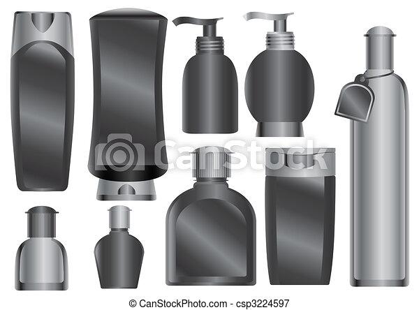 pacotes, cosméticos - csp3224597