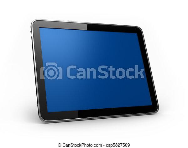 PAD Tablet landscape - csp5827509