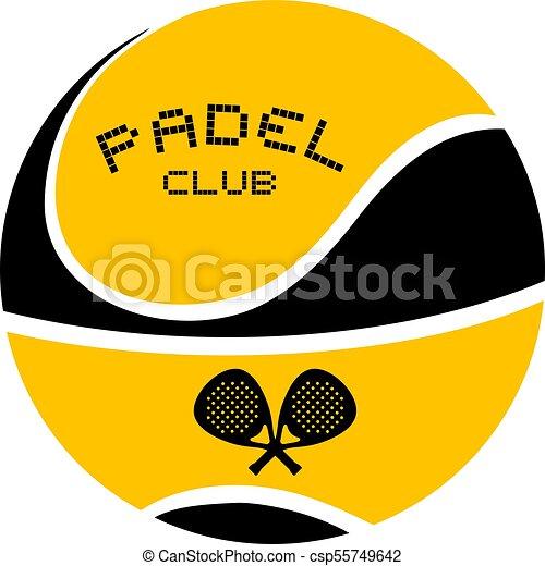 padel club symbol - csp55749642