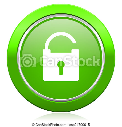 padlock icon secure sign - csp24700015
