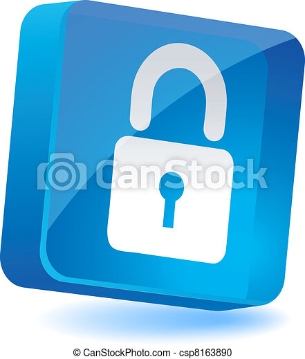 Padlock Icon. - csp8163890