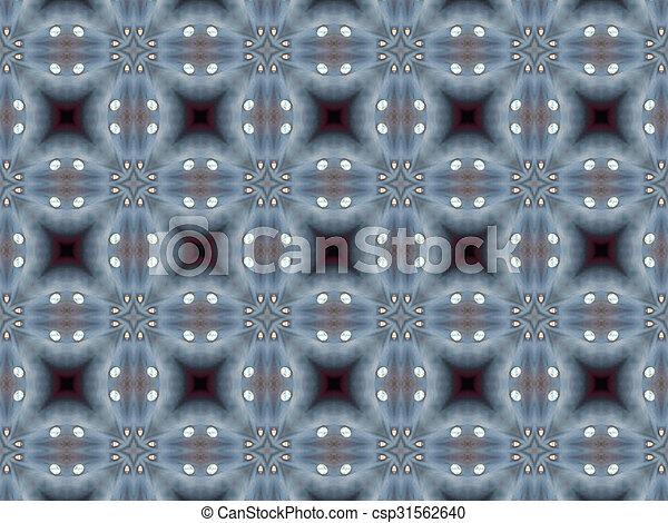 padrão, abstratos, cinzento, textura - csp31562640