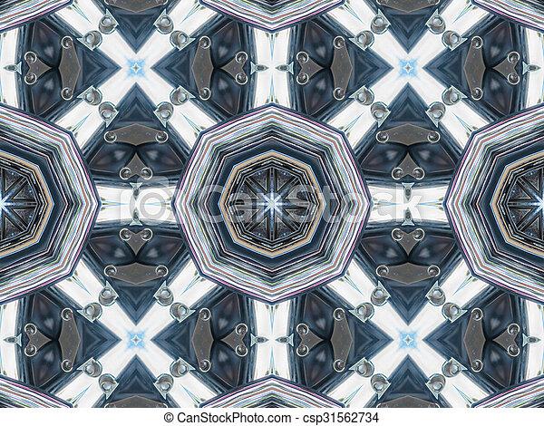 padrão, abstratos, cinzento, textura - csp31562734