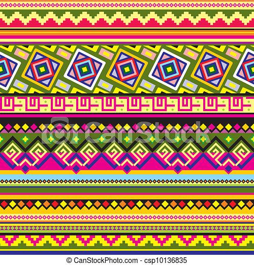 padrão, americano, latim - csp10136835