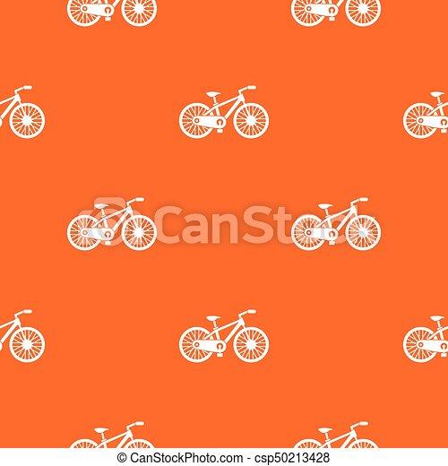 padrão, bicicleta, seamless - csp50213428