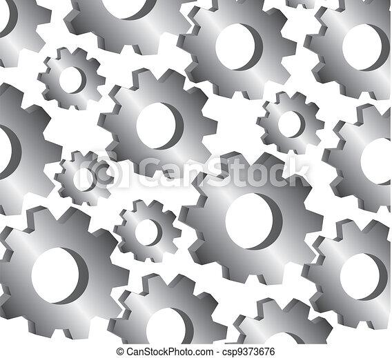 padrão, engrenagem - csp9373676