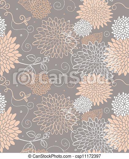 padrão floral, seamless - csp11172397