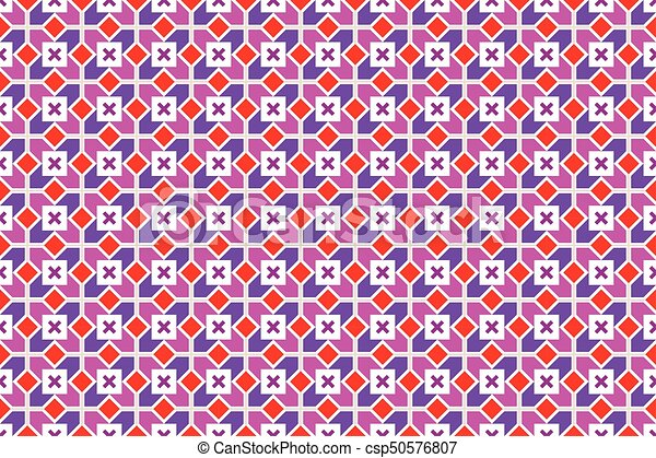 padrão, geomã©´ricas, vetorial, seamless - csp50576807