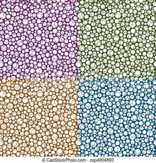 padrão, repetindo, círculo, fundo - csp4904893