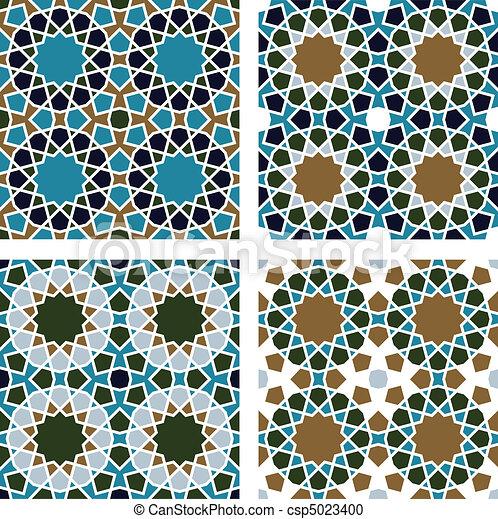 padrão, seamless, geomã©´ricas - csp5023400