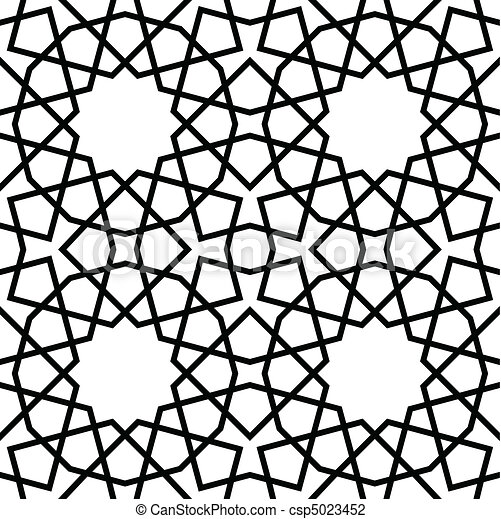 padrão, seamless, geomã©´ricas - csp5023452