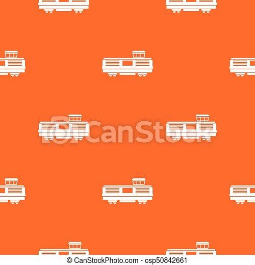 padrão, trem, seamless, frete - csp50842661