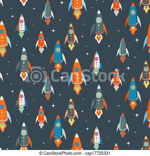padrão, vetorial, seamless, coloridos - csp17725331