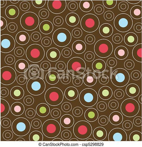 padrões, seamless, textura, tecido - csp5298829