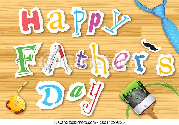 Feliz día de papá - csp14299225