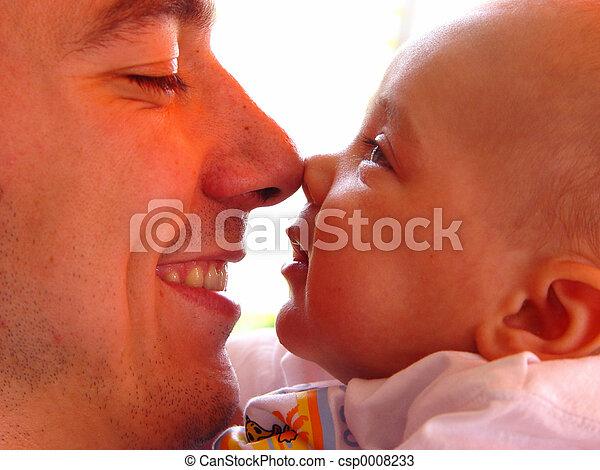 padre, figlio - csp0008233