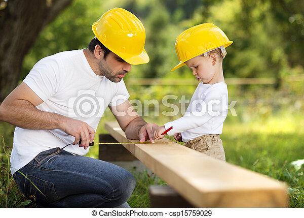 padre, figlio - csp15759029