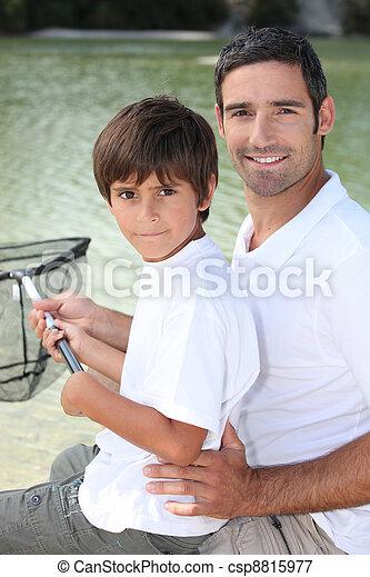 padre, figlio - csp8815977