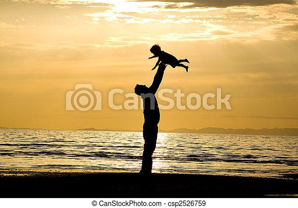 padre, hijo - csp2526759