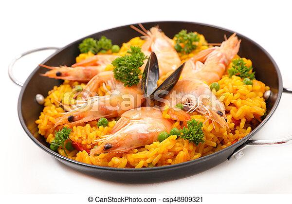 paella - csp48909321
