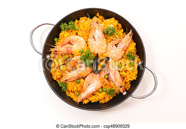 paella - csp48909329