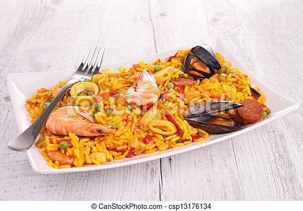 paella - csp13176134