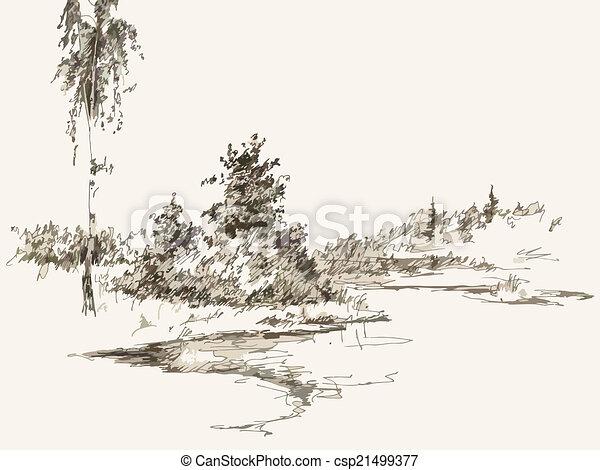 paesaggio - csp21499377