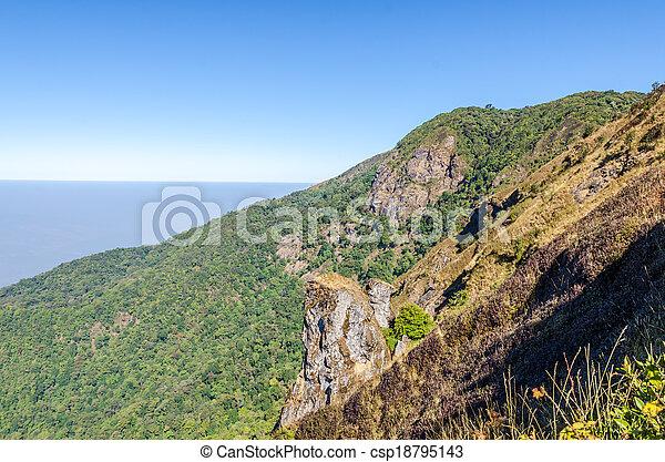paesaggio montagna - csp18795143