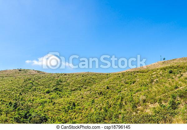 paesaggio montagna - csp18796145