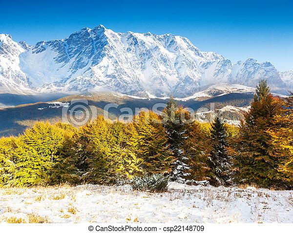 paesaggio montagna - csp22148709