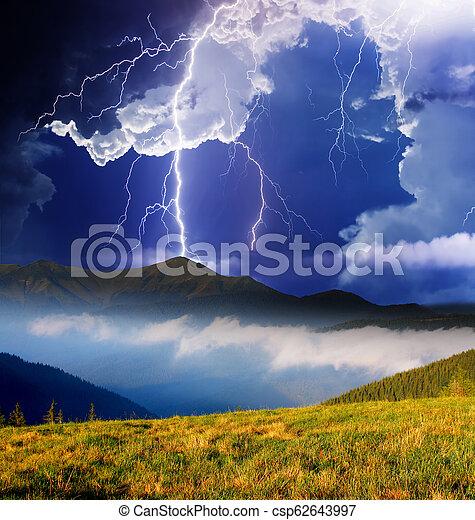 paesaggio montagna - csp62643997