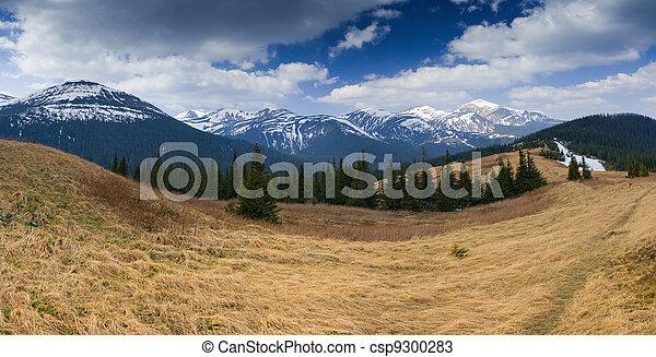 paesaggio montagna - csp9300283