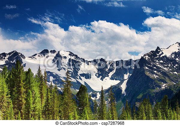 paesaggio montagna - csp7287968