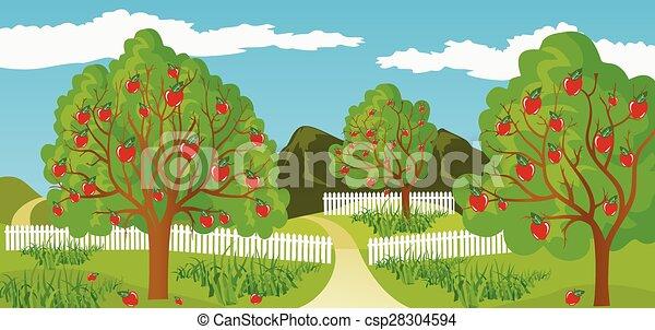 paesaggio rurale - csp28304594