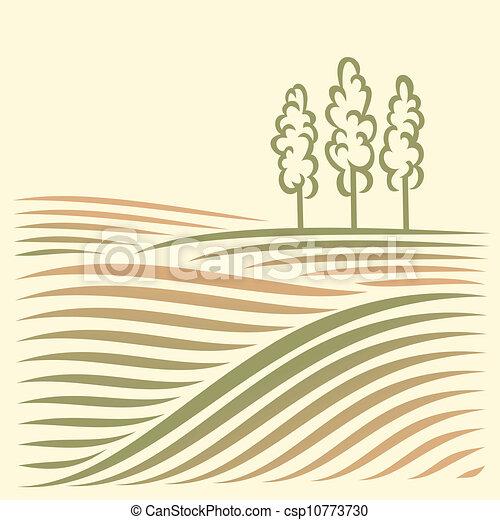 paesaggio rurale - csp10773730
