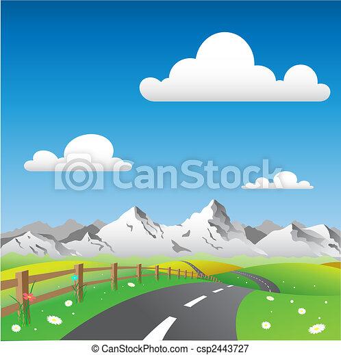 paese, paesaggio - csp2443727