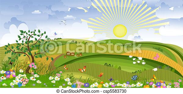 paese, paesaggio - csp5583730