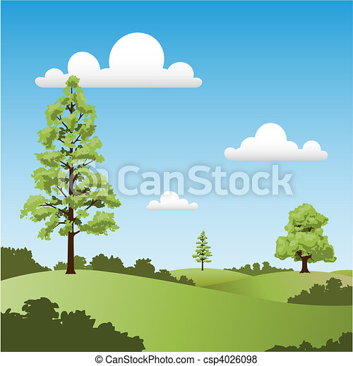 paese, paesaggio - csp4026098