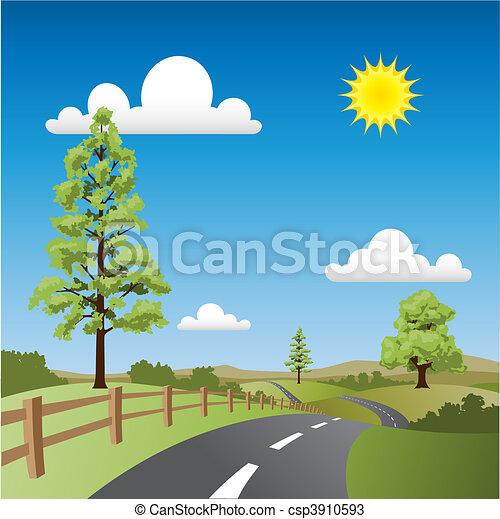paese, paesaggio - csp3910593