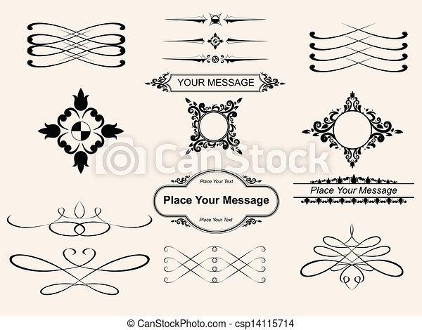 page decoration  - csp14115714