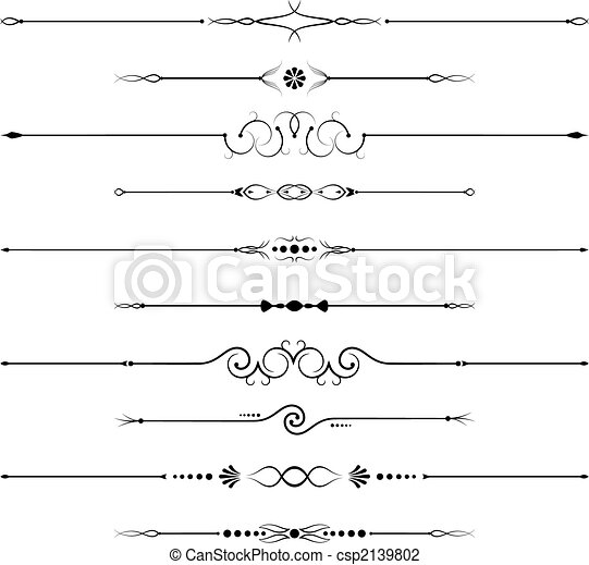 Page decorations - csp2139802