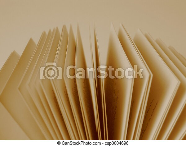 Pages of a book - csp0004696