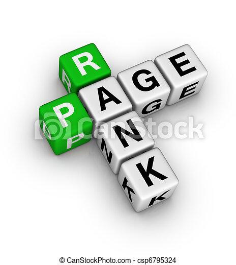 pagina, rang - csp6795324