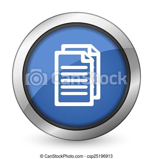 pagina's, document, pictogram, meldingsbord - csp25196913