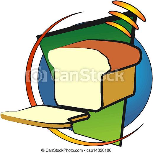pagnotta, fetta, bread - csp14820106